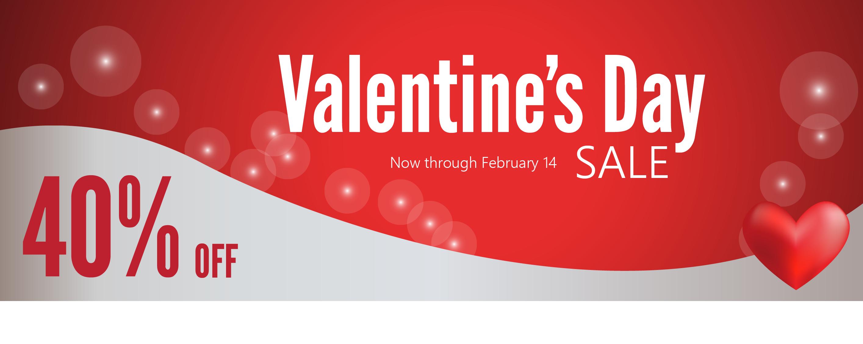 2016 Valentine's Day Sale